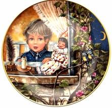 Au Clair de la Lune Gerda Neubacher Classic Lullabies of the World Plate - $38.44