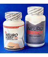 Neuro Boost-IQ and Neuro Energy, Brain Power/Focus, 30 Caps, Diet Supp, ... - $34.97