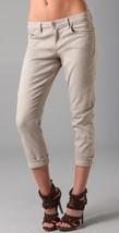 New Joe's Jeans Best Friend Women Low Rise Beige Cropped Jeans Pants W45... - $30.39