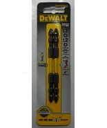 "Dewalt DWA4PH2DEIR2 Impact Ready #2 Phillips x 4"" Double Ended Screw Tips - $6.93"