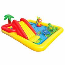 Inflatable Ocean Play Center Kids Backyard Kiddie Swimming Pool Game Wat... - $89.97