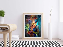 Digital Oil Portrait Painting - Sexy Belly Dancer, Woman Image Download,... - $4.20