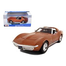 1970 Chevrolet Corvette Bronze 1/24 Diecast Model Car by Maisto 31202brnz - $27.72