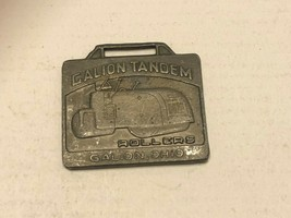Vintage Watch Fob - Calion Tandem Rollers - $17.00
