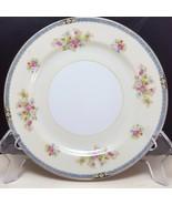 "Noritake Nippon Toki Kaisha Salad Luncheon Plate 7-1/2"" Cream Floral Mid... - $9.90"