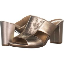 naturalizer Zabrina Mule Sandals 682, Platina, 6.5 US / 36.5 EU - $34.55