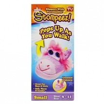 Stompeez! Slippers Unicorn Small Size 9-11 - $19.95