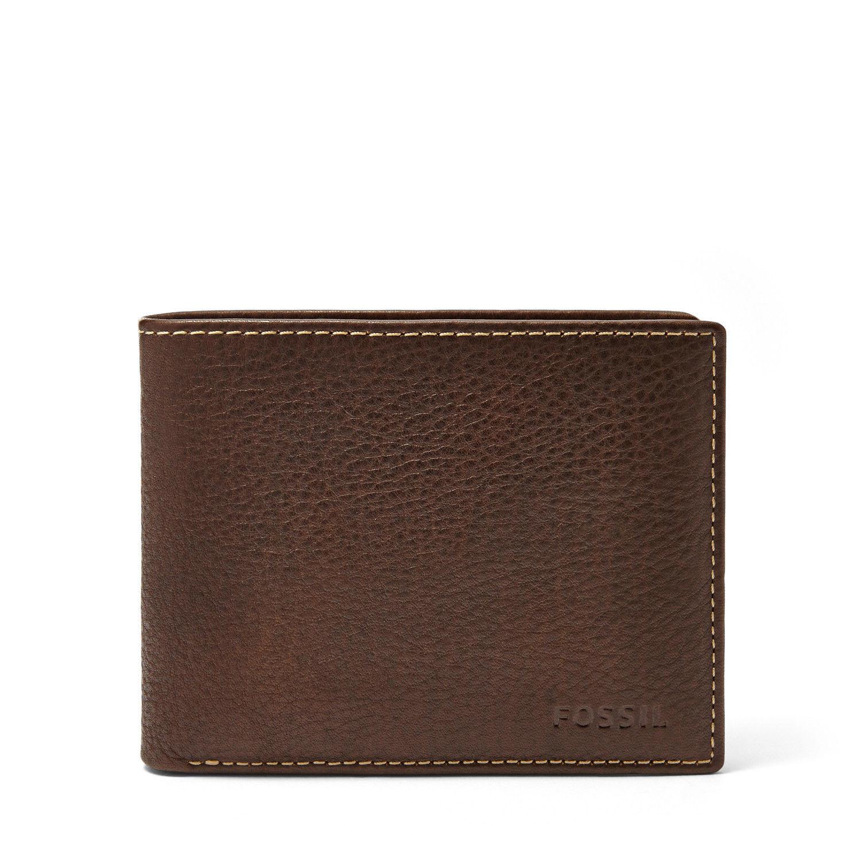 68dfc46a064c Fossil Men s Lincoln Passcase Bifold Wallet