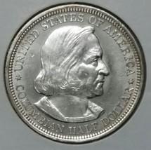 1893 Columbian Exposition Commemorative Silver Half Dollar Coin Lot # E 66