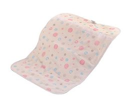 Baby Infant Urine Mat Cover Changing Pad Crib Mattress Pad, Pink