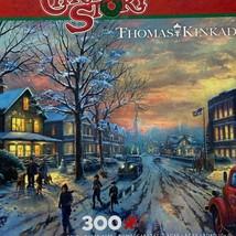 Ceaco Thomas Kinkade A Weihnachten Story 300 Teile Puzzle Komplett - $11.40