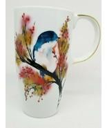 CYPRESS HOME Coffee Tea Cup Mug Oversize Tall Blue Bird LOVELY! - $16.95