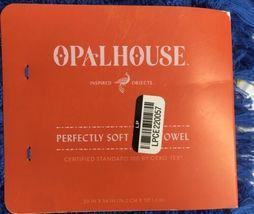 "Opalhouse Soft Bath Towel Capri Blue 30"" x 54""BRAND NEW  image 3"