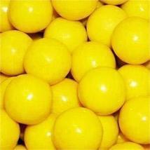 Yellow 1 Inch Gumballs, 1LB - $7.78
