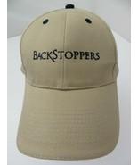 Backstoppers Khaki Adjustable Adult Ball Cap Hat - $12.86