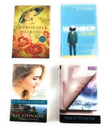 Lot of 4 Novels Wonder, The Hope Within, A Sparkle of Silver, An Improba... - $15.83