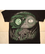 Family Guy Stewie Lois Night Vision Sneaky Cartoon Show Black T Shirt S - $17.17