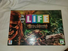 Pirates of the Caribbean Game of Life Board Game Dead Man's Chest Complete - $25.30