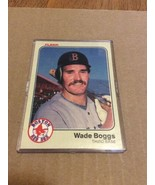 1983 Fleer Wade Boggs Rookie RC #179 Mint Centered Gradable card NICE!! - $14.95
