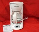 Black & Decker DLX1050W 12-Cup Programmable Coffeemaker W Glass Carafe, NEW, #N1