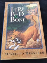 Fire, Bed, and Bone by Branford Hunting Dog Story Book Set In 1381 England - $9.00