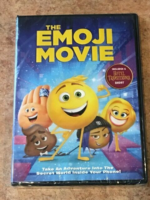 Primary image for The Emoji Movie (DVD, 2017) NEW