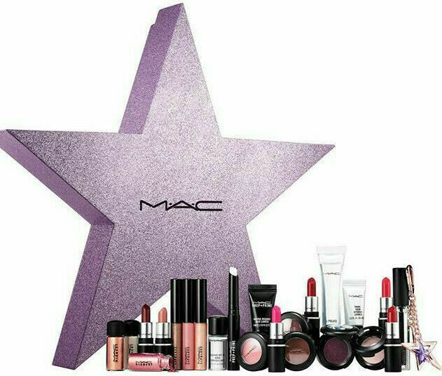 "Primary image for RARE MAC Vault 24 piece set NEW IN BOX ""Stars for Days"" LOT lip eyeshadow skin"