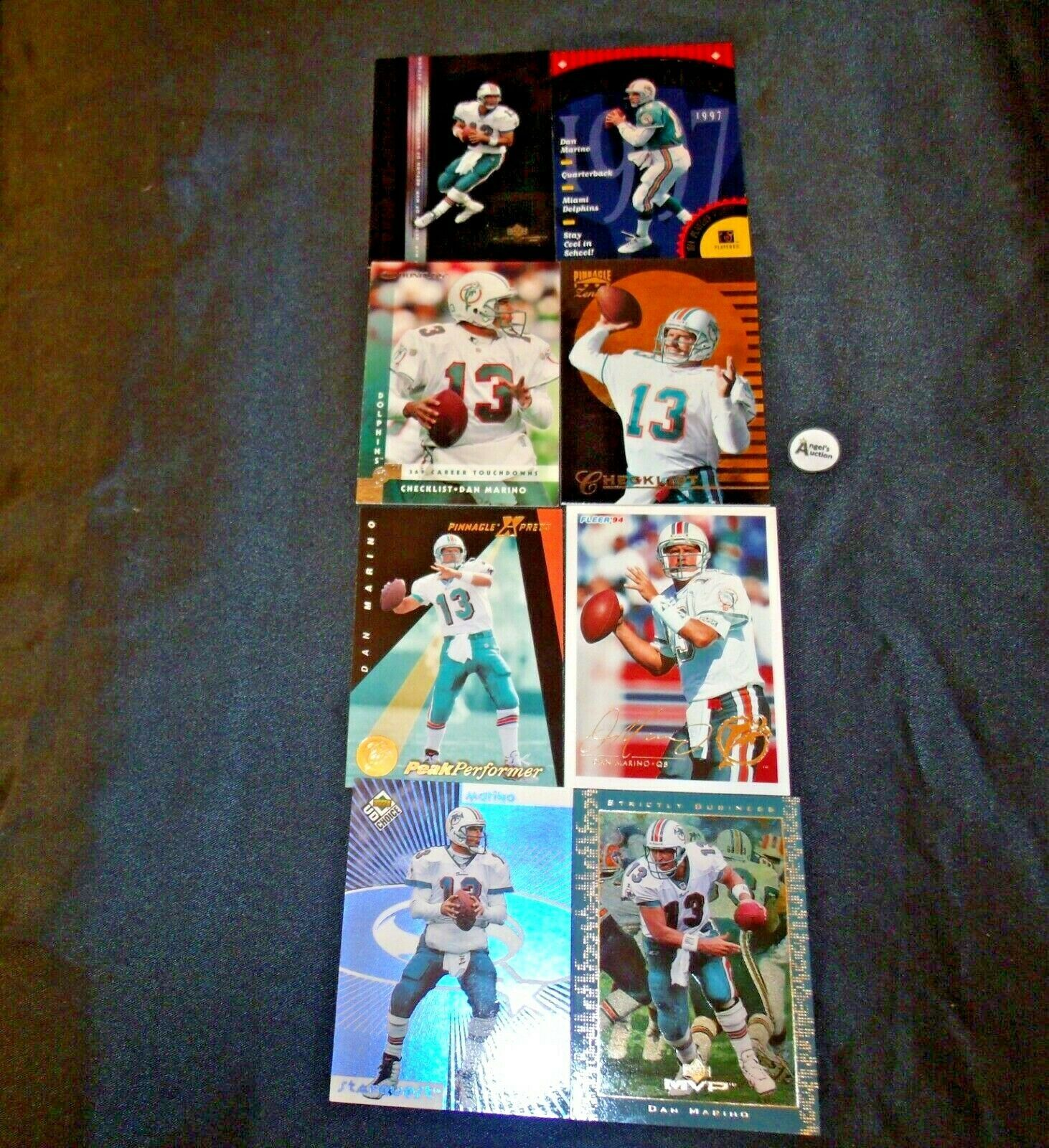 Dan Marino # 13 Miami Dolphins QB Football Trading Cards AA-19FTC3003 Vintage Co