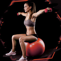 Exercise/Yoga Ball Extra Thick Yoga Ball Chair, Anti-Burst - Red 65cm - $22.99