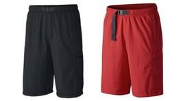Columbia Men's Palmerston Peak Shorts Omni-Shade UPF 50 Swim and Sun Cargo Short