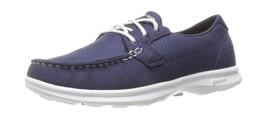 Skechers Womens Go Step-Riptide Boat Shoes Blue (navy) 4 UK - £71.28 GBP
