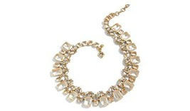 J.Crew Women's Cluster Drop Stone Necklace Crystal One Size - $94.11