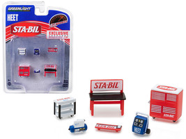 """Greenlight Muscle Shop Tools \""""STA-BIL & HEET\""""  6 piece Set 1/64 by Gre... - $13.18"""