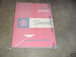 1961 GM Buick Spezial Service Shop Reparatur Werkstatt Manuell OEM Buch ... - $33.60