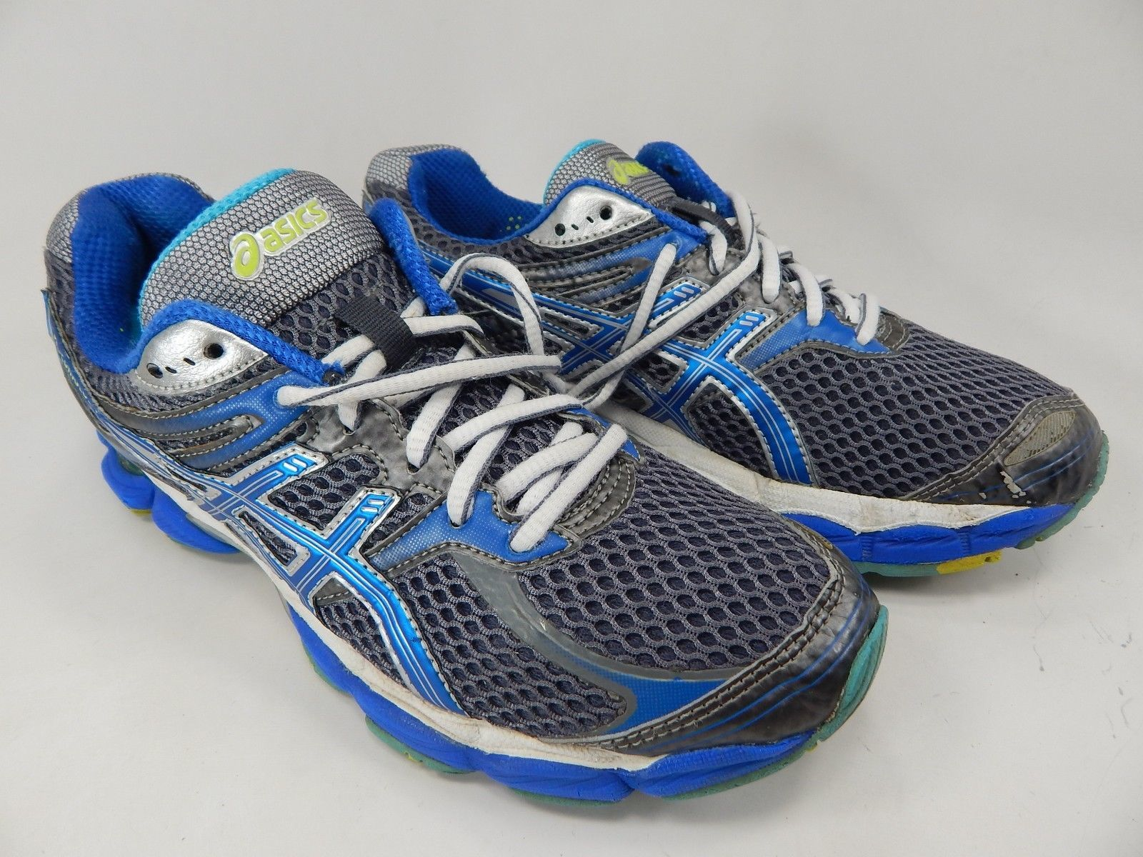 Asics Gel Cumulus 14 Size 9 M (B) EU 40.5 Women's Running Shoes Gray T296N