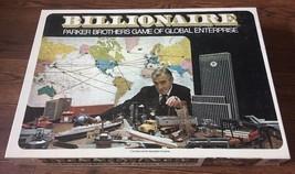 Vintage Parker Brothers Billionaire Board Game 1973 100% Complete - $17.32