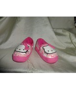 NWOT - HELLO KITTY Girls' Pink Slippers - Size 5/6 - $4.94