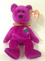 MILLENIUM THE BEAR  TY BEANIE BABY  RETIRED - £2.45 GBP
