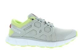 Women's Reebok Hexaffect Run 4.0 Mtm AR3099 GREY/LEMON/WHITE/YELLOW Brand New - $29.95