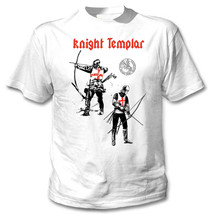 KNIGHT TEMPLAR 46 - NEW COTTON WHITE TSHIRT - $19.64