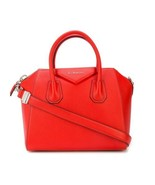 NEW Givenchy Antigona Small Sugar Leather Pop Red Satchel Crossbody Shou... - $1,926.93