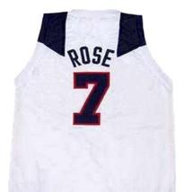 Derrick Rose Team USA Basketball Jersey Sewn White Any Size image 2