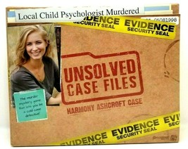Unsolved Case Files Murder Mystery Game - Harmony Ashcroft Case (Z6) - $33.85