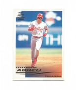 Bobby Abreu 2000 Pacific Crown Collection Card #210 Phillies Free Shipping - $1.09