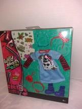 Wild Hearts Crew Retro Hero! 8-Piece Accessory Set Doll Clothes - $9.49