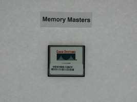 MEM1800-128CF 128MB Approved Compact Flash Memory for Cisco 1800
