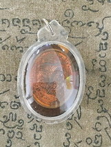 HOLY BLESSED TALISMAN LP RUAY WAT TAKO TOP LUCKY MAGIC POWER THAI BUDDHA... - $19.99