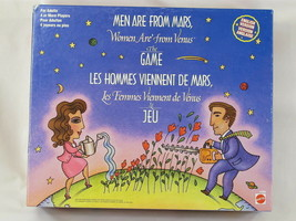 Men are from Mars, Women are from Venus 1998 Board Game Mattel 100% Comp... - $11.88