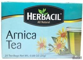 Herbacil All Natural Arnica Tea/Te Arnica 25 Bags/Saquitos - $7.12