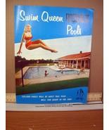 Advertisment Flyer Swim Queen Fibercrete Pools - $7.19